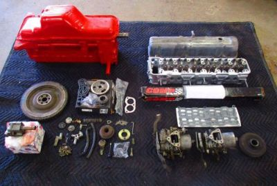 Purchase Datsun 240Z L24 Motor Engine Long Block P30 Block E88 Head Carb Flywheel J10380 motorcycle in Sherman, Texas, United States, for US $1,200.00