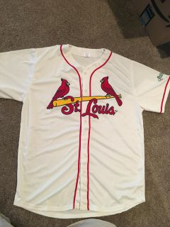 Embroidered Cardinals jersey Size XL