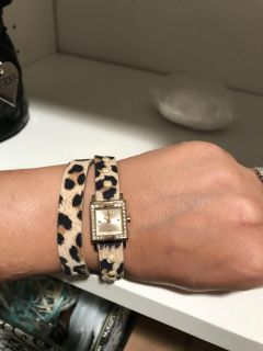 NWT Guess watch with gift bag