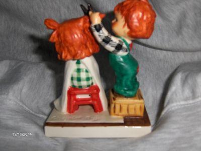 Vintage Very Rare Goebel Sheer Nonsense Red Head Figurine Hummel