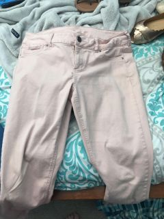 Maurice s peach colored jeans women s