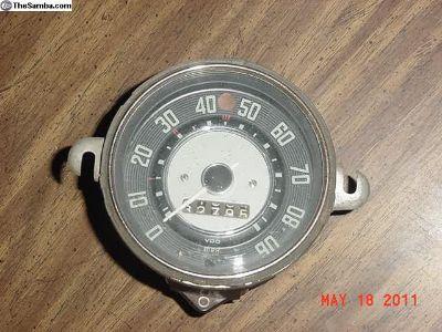 Nice OG Specimen Lowlight Ghia Speeometer 2/57