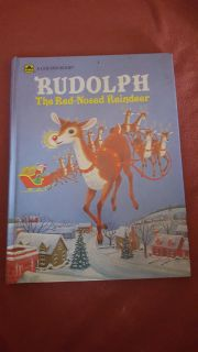 rudoplph the red nose reindeer book