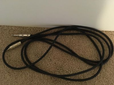 Monster cable guitar cord for amp