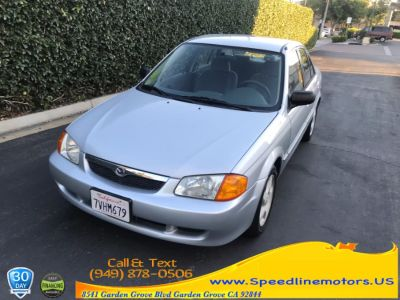 2000 Mazda Protege ES (Highlight Silver Metallic)