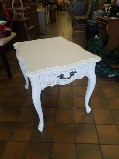 Vintage French Provincial side table $65 plus tax