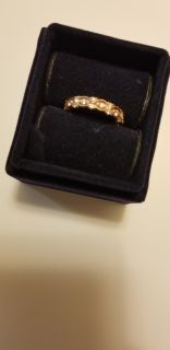 Rose gold and diamonds bought at Shane and Company for 800