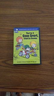 You're a good sport Charlie Brown DVD