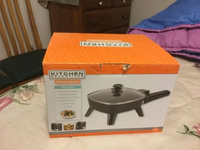 Brand New Electric Skillet