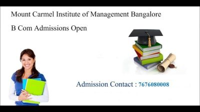 Mount Carmel College Bangalore Admission procedure