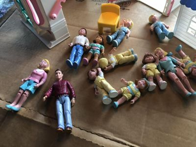 Collectible Fisher Price 1994 Figures $ 6.00 each