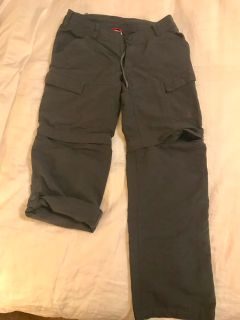 North Face 3 way convertible pants - women s.