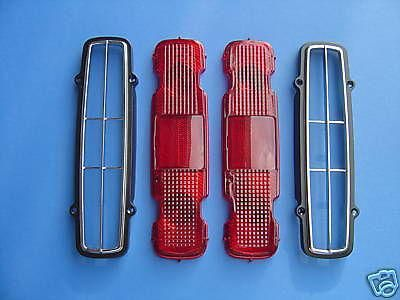 Find 1970-1971-1972 CHEVROLET MONTE CARLO TAILLIGHT BEZELS & LENS KIT-4 PIECES motorcycle in Ross, Ohio, US, for US $101.99