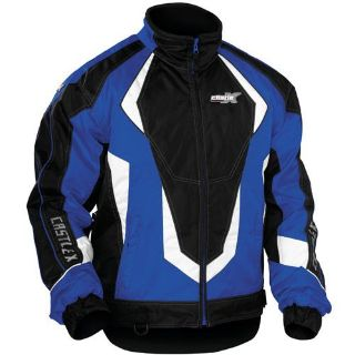 Sell CASTLE X PLATFORM BLUE MEN'S WINTER SNOWMOBILE JACKET 2X LARGE 70-1729 motorcycle in Saint Paul, Minnesota, US, for US $124.99