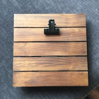Wooden Plank Picture Frame