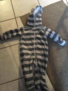 6 months snow suit, wore once