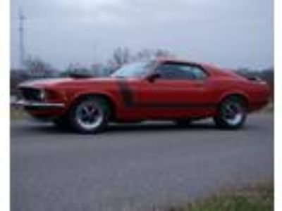 1970 Ford Mustang Fastback Boss 302 Tribute 351C