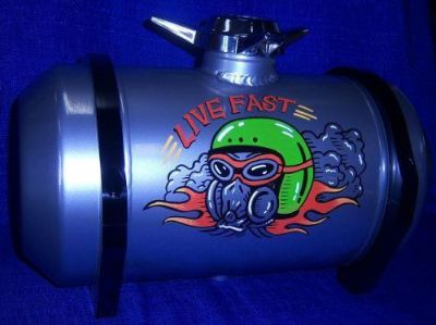 Sell fuelies spun aluminum custom gas tanks 8x12 or 8x16 motorcycle in Hutchinson, Kansas, United States, for US $420.00