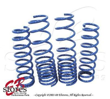 Purchase Blue Lowering Springs Front and Rear 4pcs Acura TSX 10-11 3.5L V6 Only motorcycle in La Puente, California, US, for US $165.95