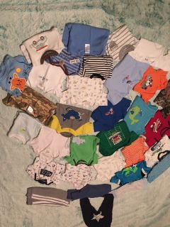 3month lot (5 pics worth of clothes)