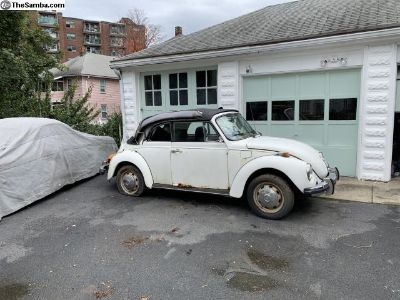 Parting Out - 1977 beetle convertible