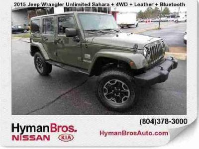 Used 2015 Jeep Wrangler Unlimited 4WD 4dr