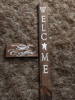 Country primitive signs