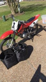 2007 Honda w/ Riding Gear