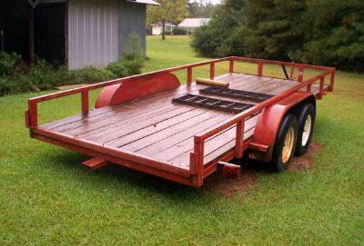 UTILITY TRAILER  16 FT HEAVY DUTY