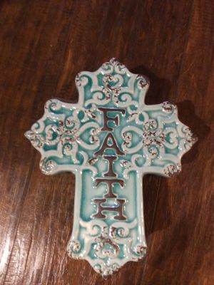 New cross faith trinket box