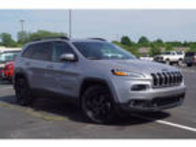 2018 Jeep Cherokee Silver, 1020 miles