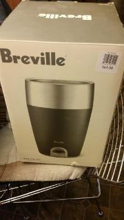 New / Breville Stainless Steel Electric Wine Chiller