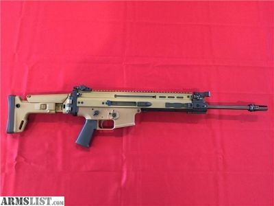 For Sale: FNH SCAR 16 FDE 5.56x45mm NATO.