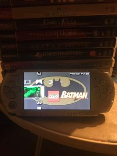 Psp 3000 w/ charger and 22 games