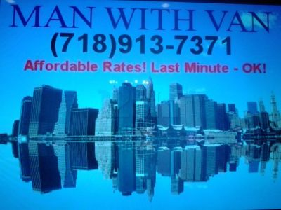 Man and van 718-913-7371