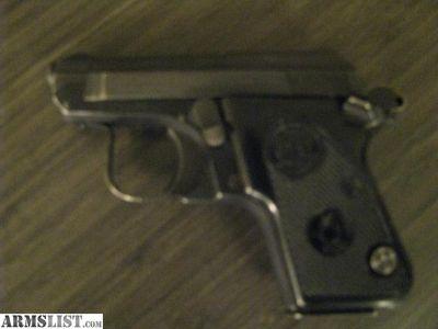 For Sale/Trade: Beretta 950 BS 25auto