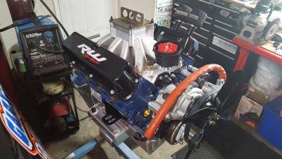 """Ford 358ci 8.7"""" Deck Dart N Head Engine"""