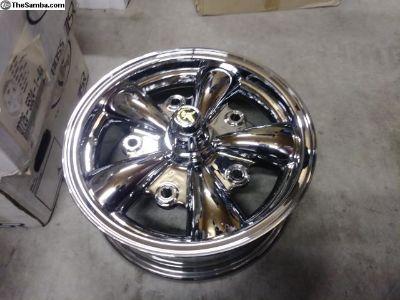 [WTB] F/S- F/T Chrome 5 spoke wheels - American Eagle
