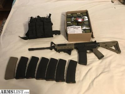 For Sale: Spikes Tactical AR-15 with EXTRAS!!