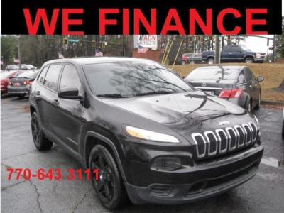 2015 Jeep Cherokee Sport (Black)