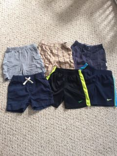 18 month shorts, good condition, see description, all for $5