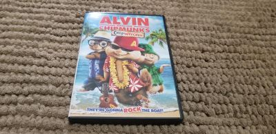 Alvin and The Chipmunks Shipwrecked DVD