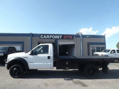 2006 Ford F450 DUALLY F450 FLAT BED DUALLY 6.0L DIESEL