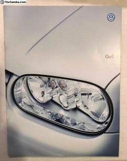 VW Golf Japanese Brochure