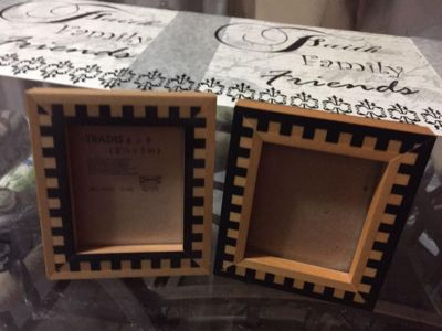 Picture frames small wooden