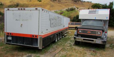 '81 Chevy C60 Truck and 42' Chaparral Racing Trailer
