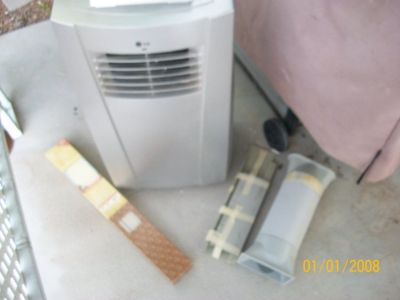 almost new portable air conditioner