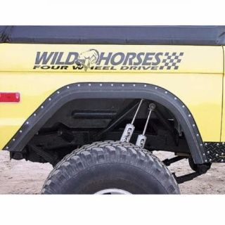 Buy Wild Horses Gorilla Warflares 2 Front Fender Flares (2 Fronts) motorcycle in Stockton, California, United States, for US $149.99