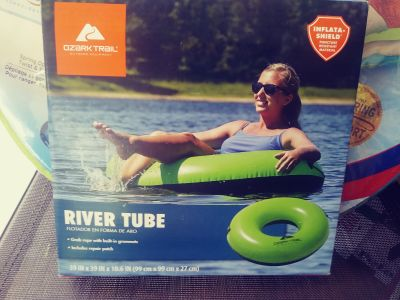 River Tube with Rope....New in box
