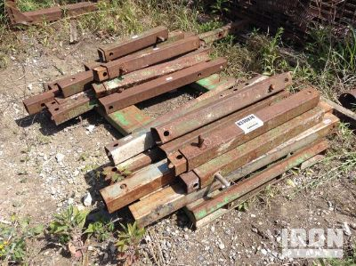 Lot of (21) Extendable Trench Shield Spreaders
